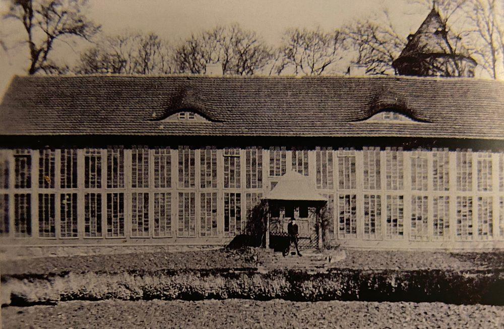 Orangerie von Schloss Görlsdorf 1920er Jahre